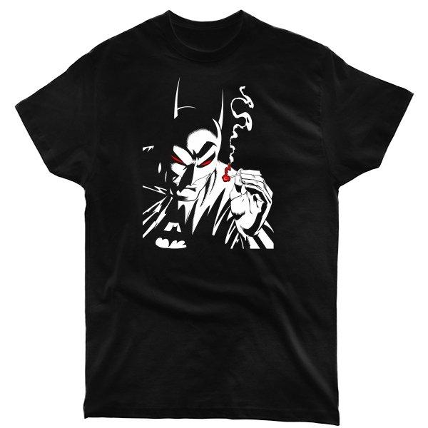 Мужская футболка Курящий Бэтмен