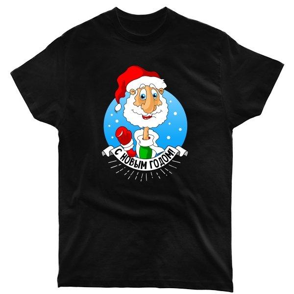 Мужская футболка Дедушка мороз
