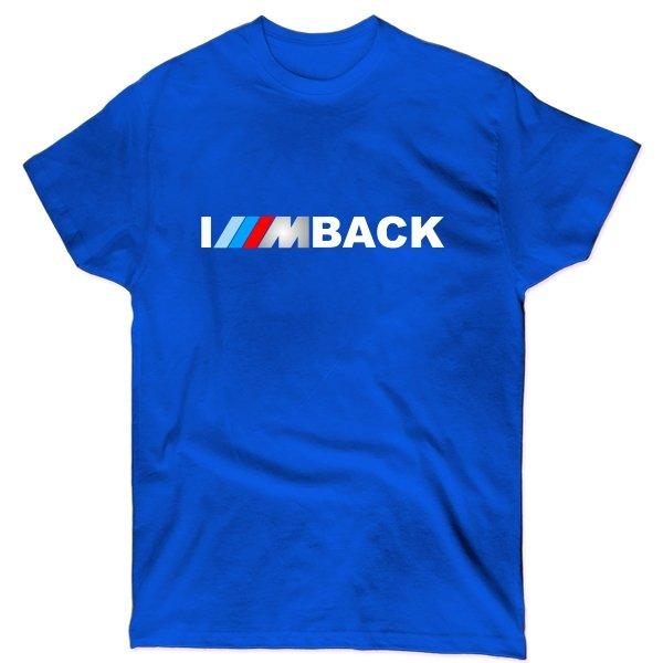 Мужская футболка Bmw im back
