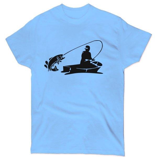 Мужская футболка Клевая Рыбалка