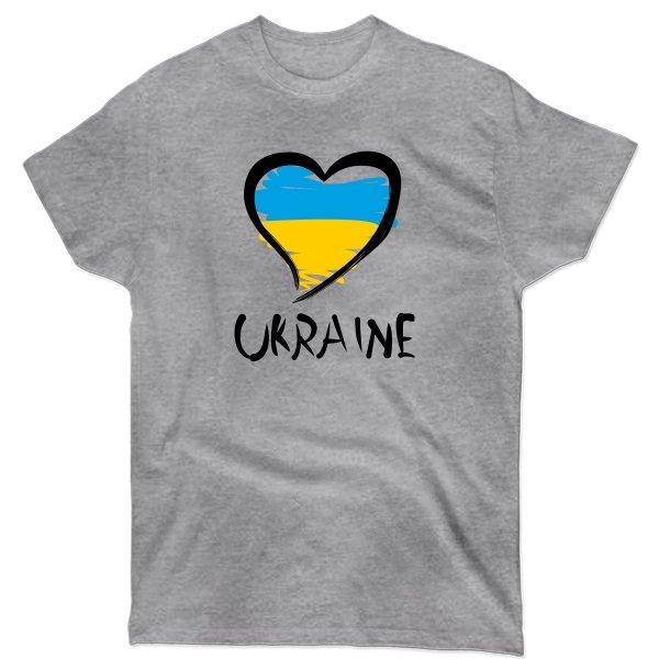 Мужская футболка Сердце Ukraine