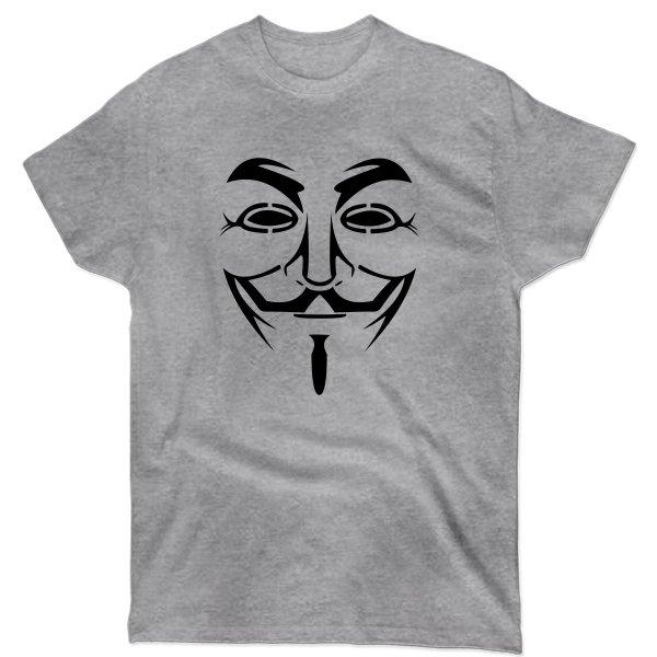 Мужская футболка Маска Гая Фокса