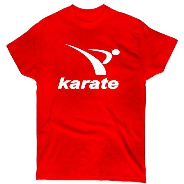 Мужская футболка Karate лого