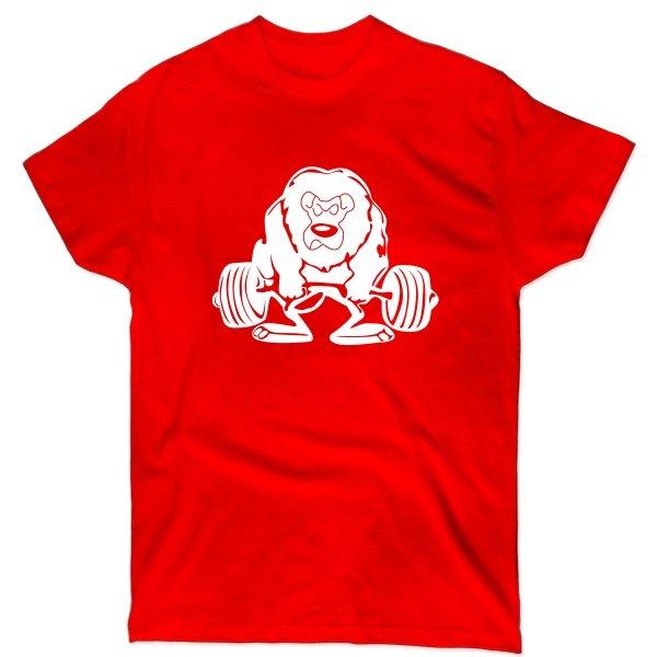 Мужская футболка Лев Силач