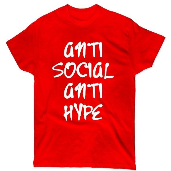 Мужская футболка Anti Social Anti Hype