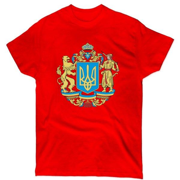 Мужская футболка Большой Герб Украины