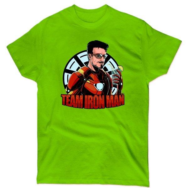 Мужская футболка Команда Железного Человека