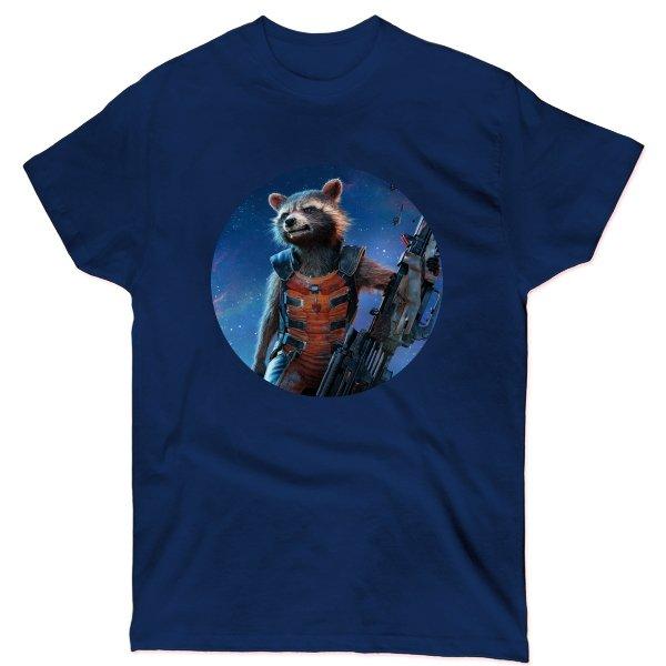 Мужская футболка Енот Марвел