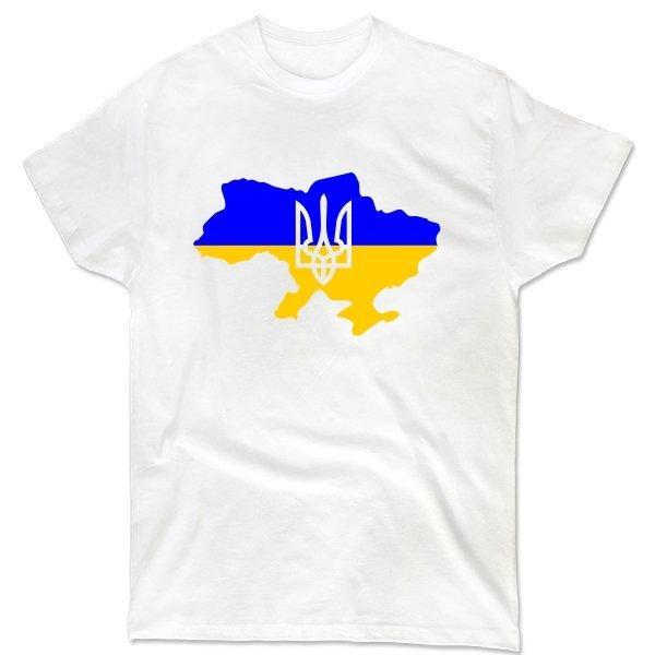 Мужская футболка Карта с Трезубцем