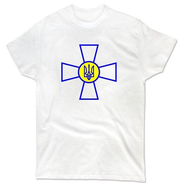 Мужская футболка Военный Символ Украины