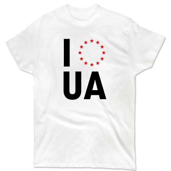 Мужская футболка Объединение с Евросоюзом