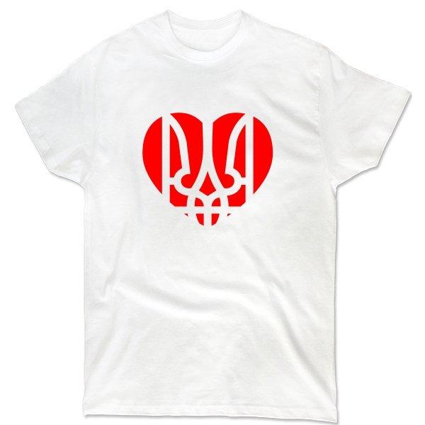 Мужская футболка Украина в Сердце