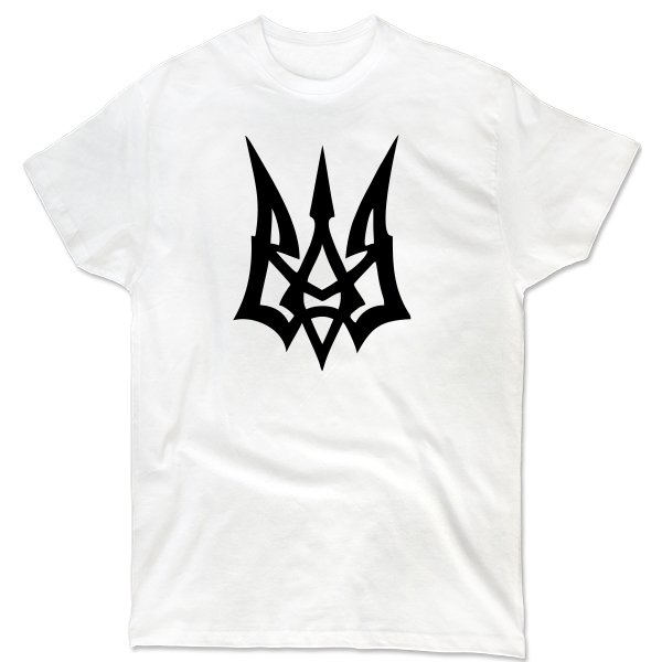 Мужская футболка Молодежный Герб Украины