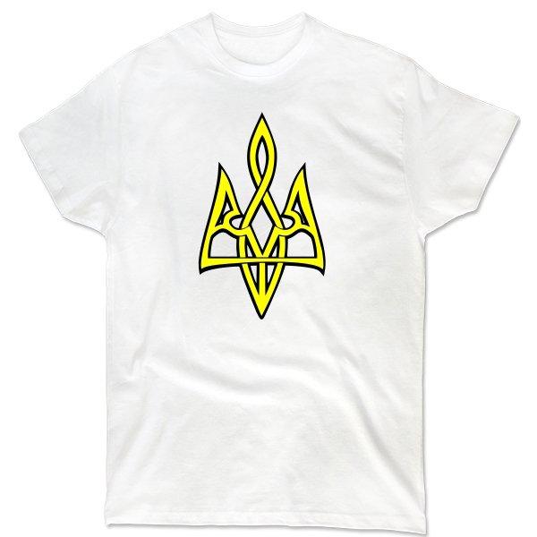 Мужская футболка Трезубец 3D