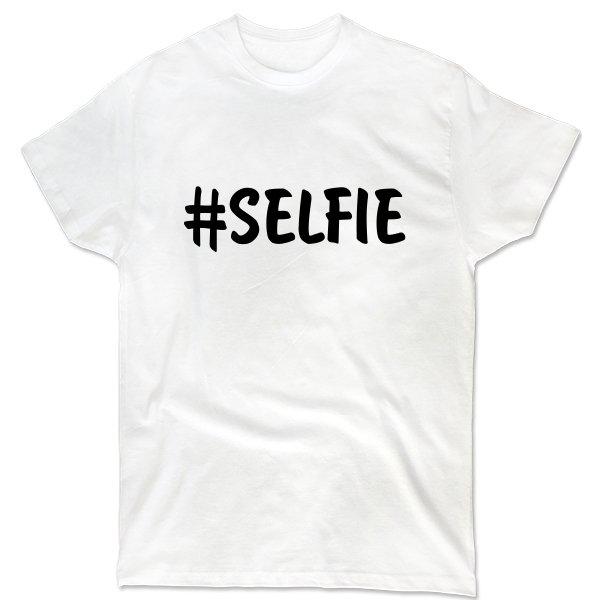 Мужская футболка Selfie