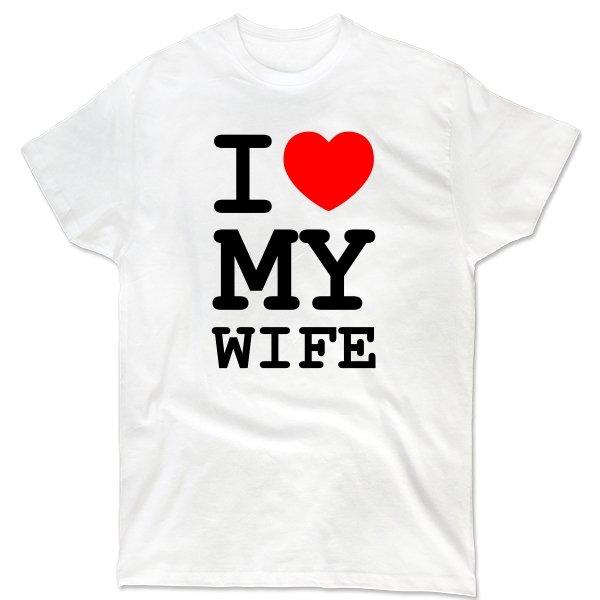 Мужская футболка Люблю Свою Жену