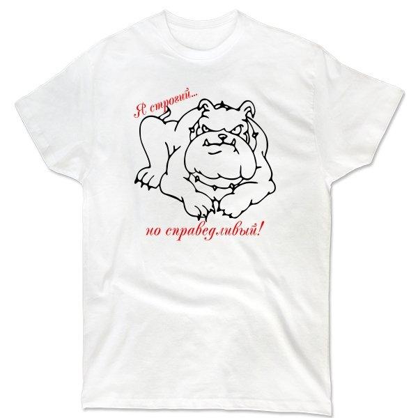 Мужская футболка Строгий но Справедливый