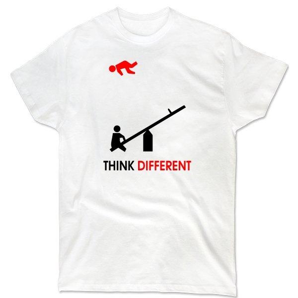 Мужская футболка Думай по-другому