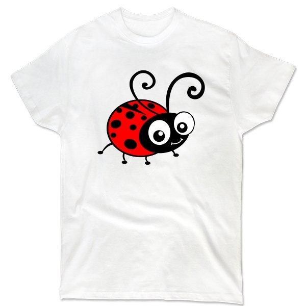 Мужская футболка Божья Коровка