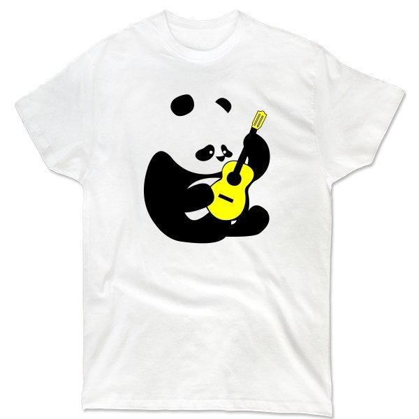 Мужская футболка Панда с Гитарой