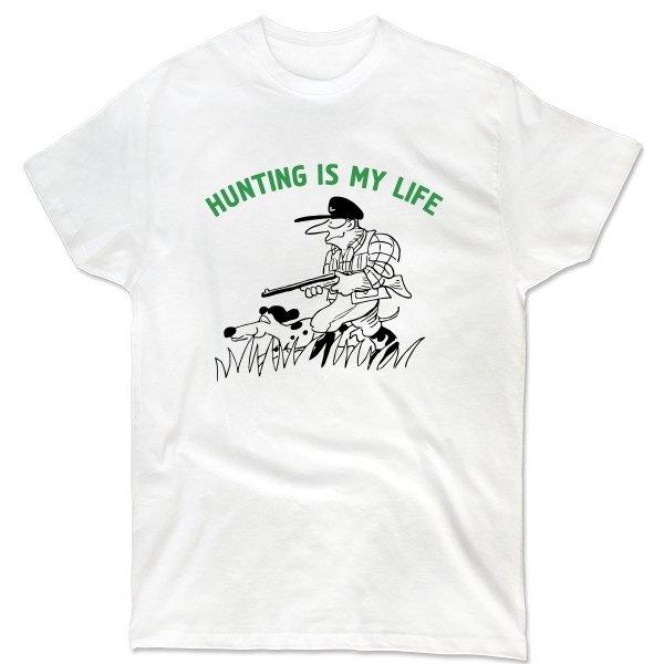Мужская футболка Охота моя жизнь