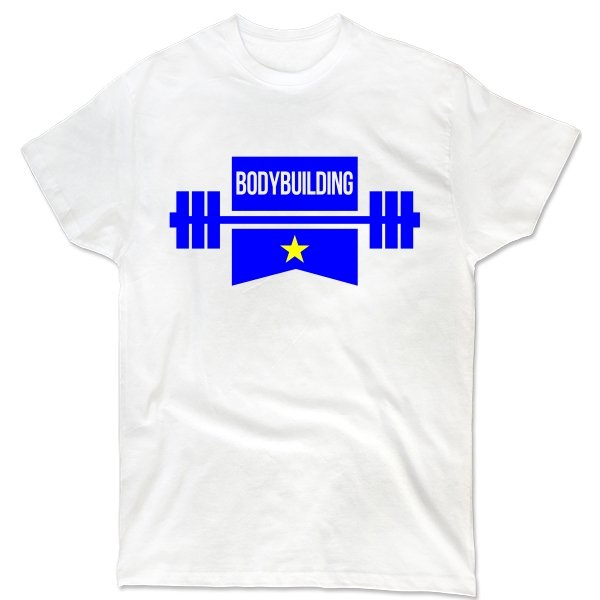 Мужская футболка Звезда Бодибилдинга
