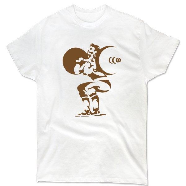 Мужская футболка Подъем штанги