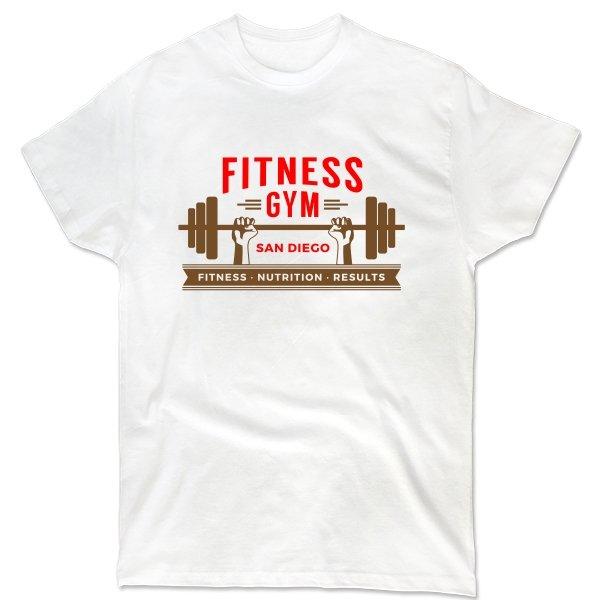 Мужская футболка Fitness Gym