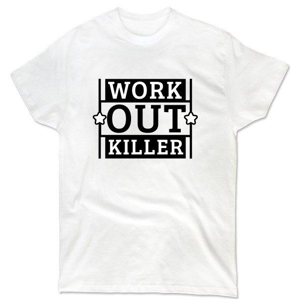 Мужская футболка Work Out Killer
