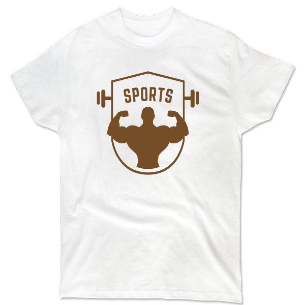 Мужская футболка Sports