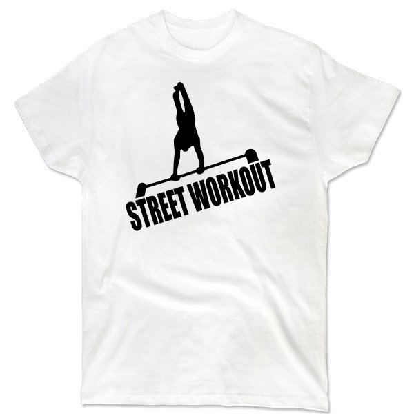 Мужская футболка Street Workout Турник