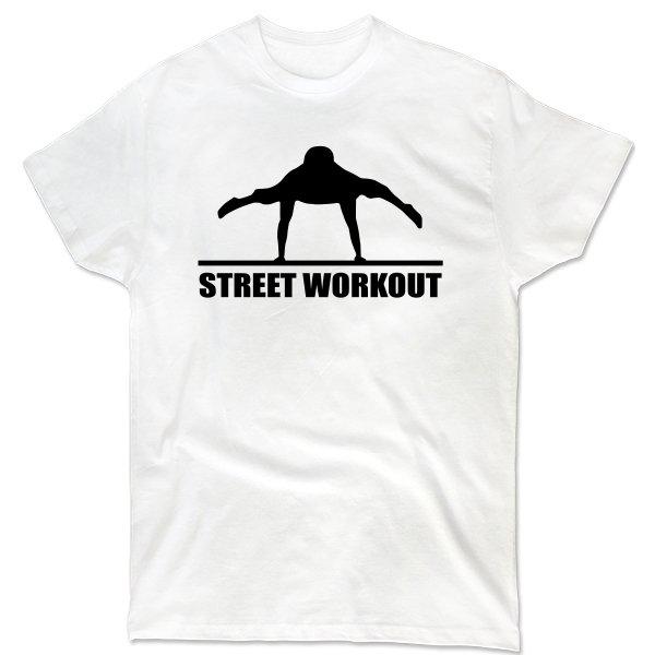 Мужская футболка Street Workout Стойка