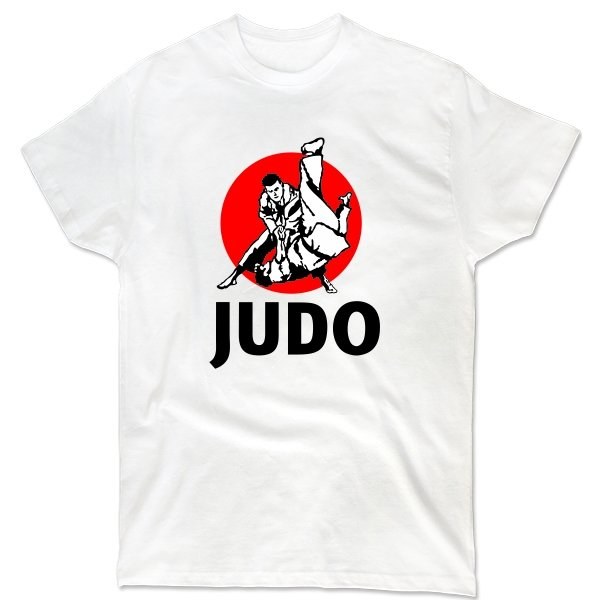 Мужская футболка Дзюдо