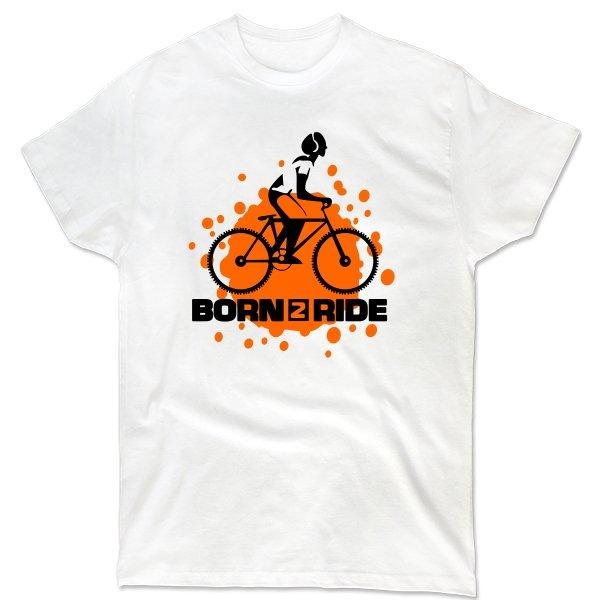 Мужская футболка Born 2 Ride