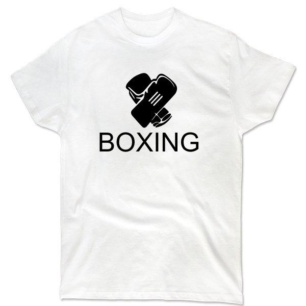 Мужская футболка Бокс