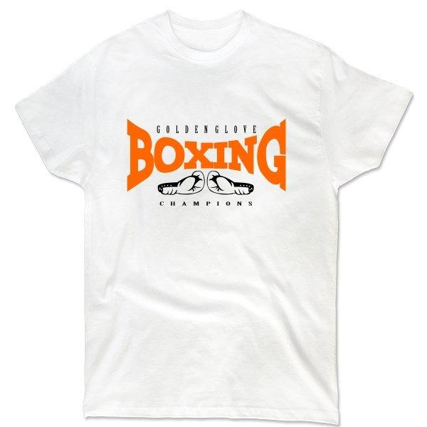 Мужская футболка Бокс - Золотая Перчатка