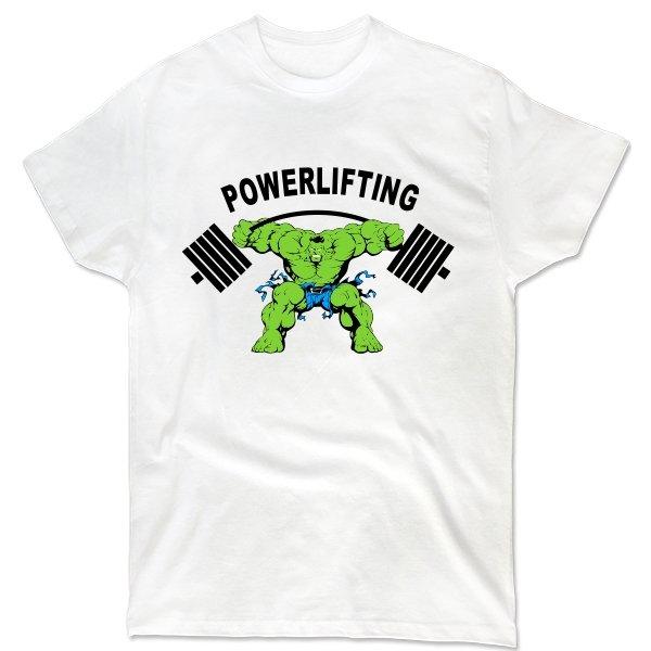 Мужская футболка Powerlifting