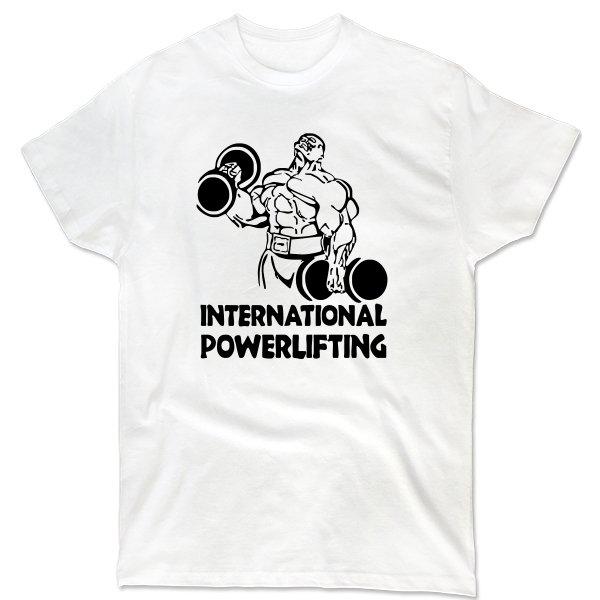 Мужская футболка International Powerlifting