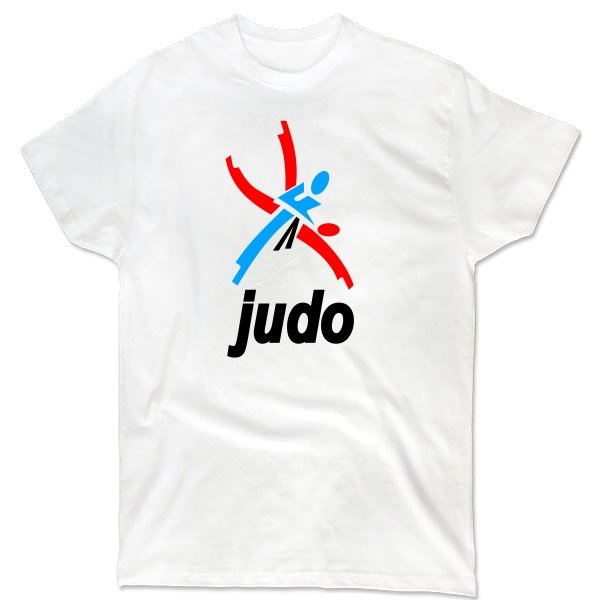 Мужская футболка Логотип Дзюдо