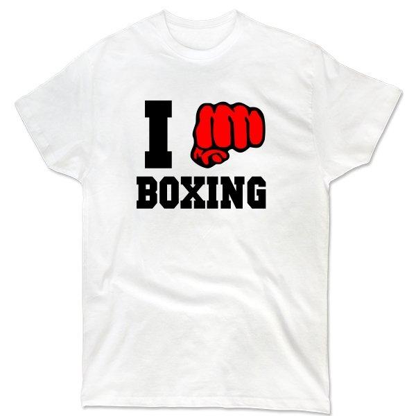 Мужская футболка Я Боксер