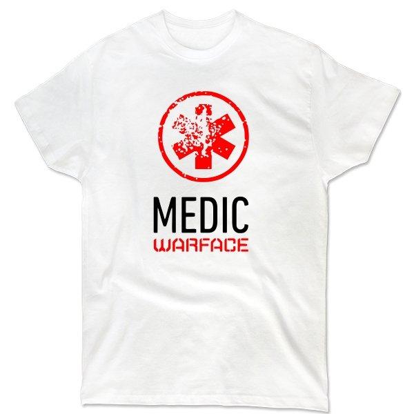 Мужская футболка Warface Медик