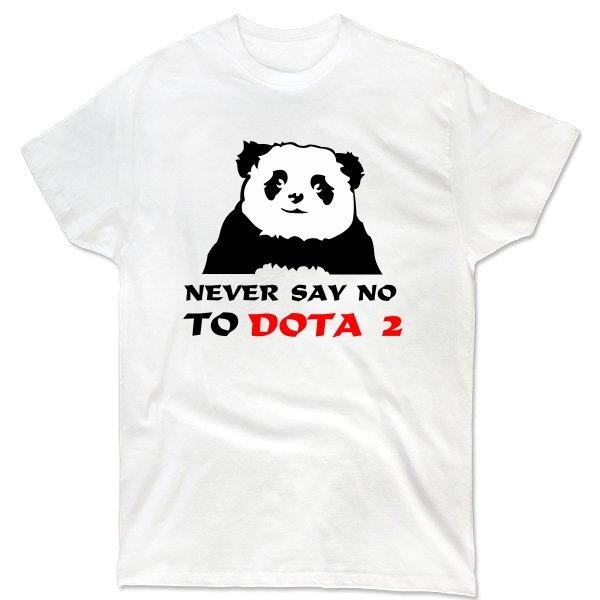 Мужская футболка Never say no to Dota 2
