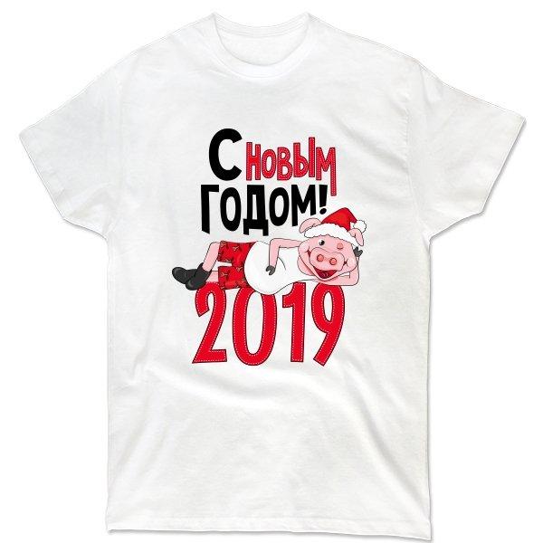 Мужская футболка 2019 год