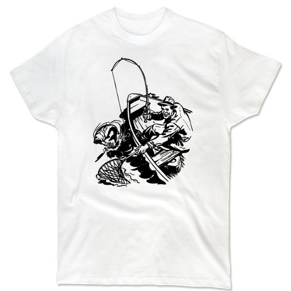 Мужская футболка Борьба с хищником