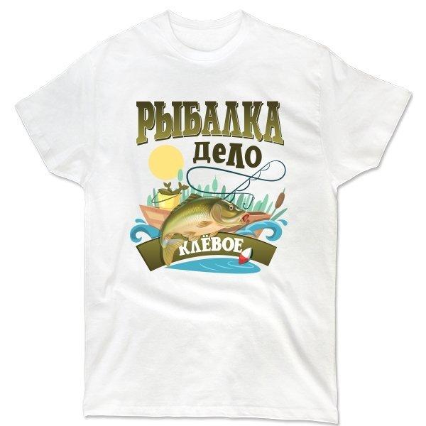 Мужская футболка Клевое дело - Рыбалка