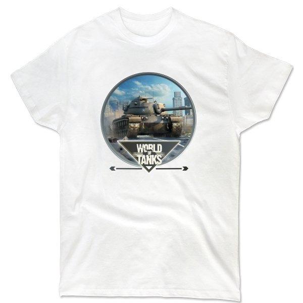 Мужская футболка World of Tanks прицел