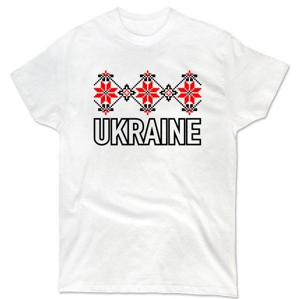 Мужская футболка Орнамент Ukraine