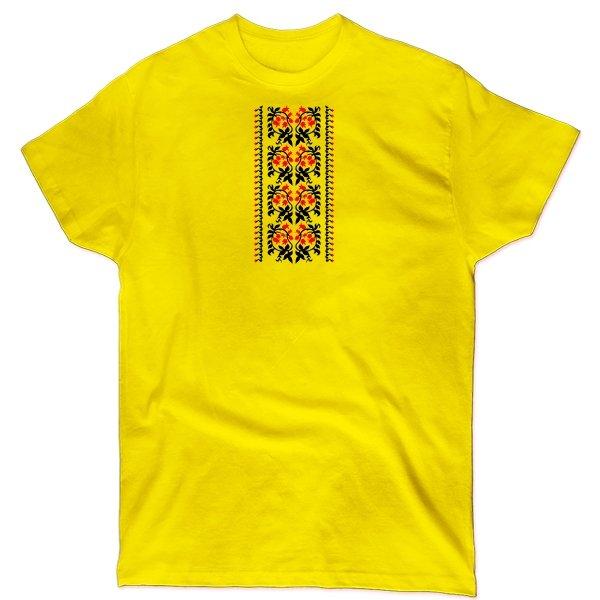 Мужская футболка Украинский Орнамент