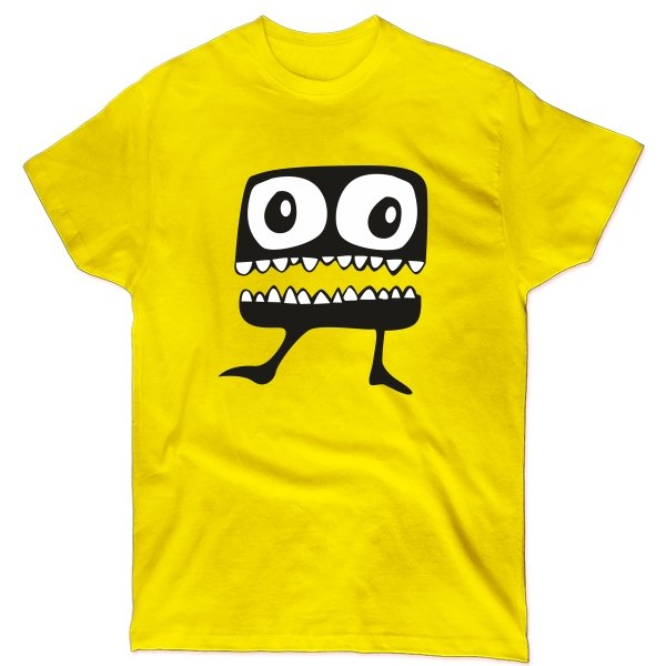 Мужская футболка Зубастик
