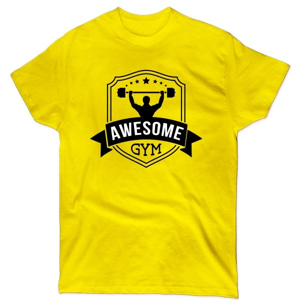 Мужская футболка Awesome Gym